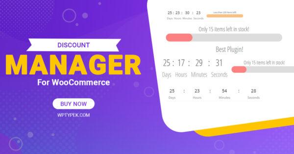 Woocommerce Discount plugin